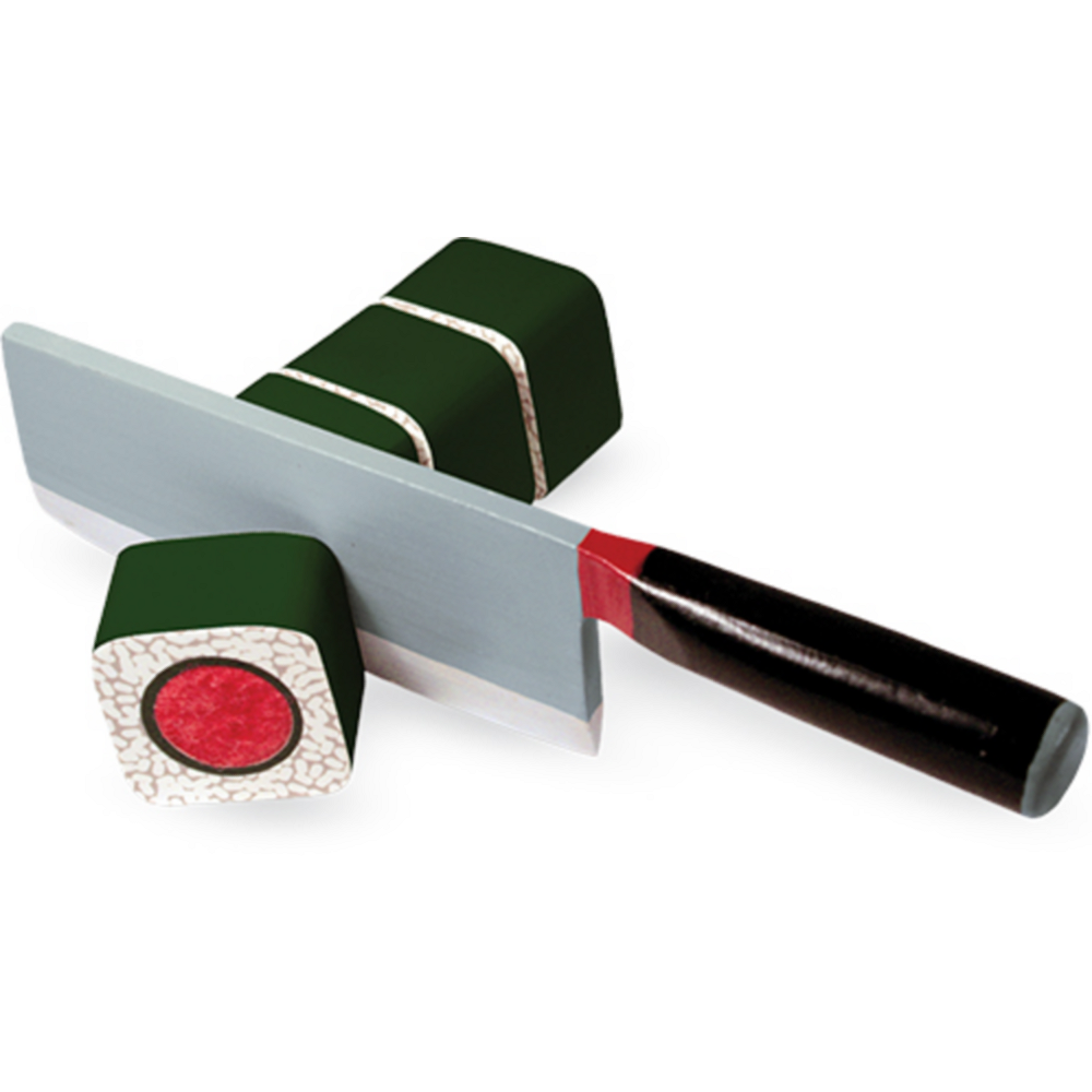 Melissa & Doug Sushi Slicing Play Food Set Image #2