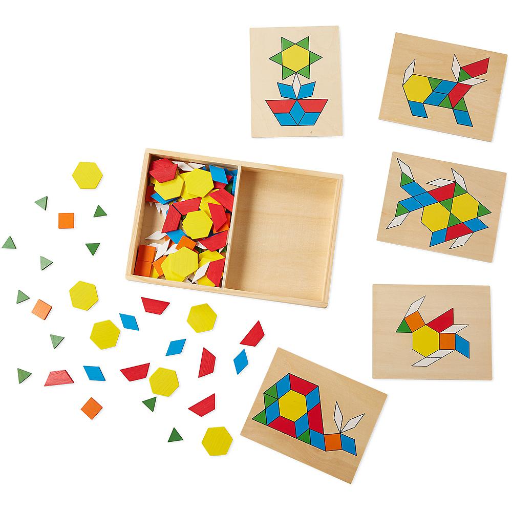 Melissa & Doug Pattern Blocks and Boards Image #2
