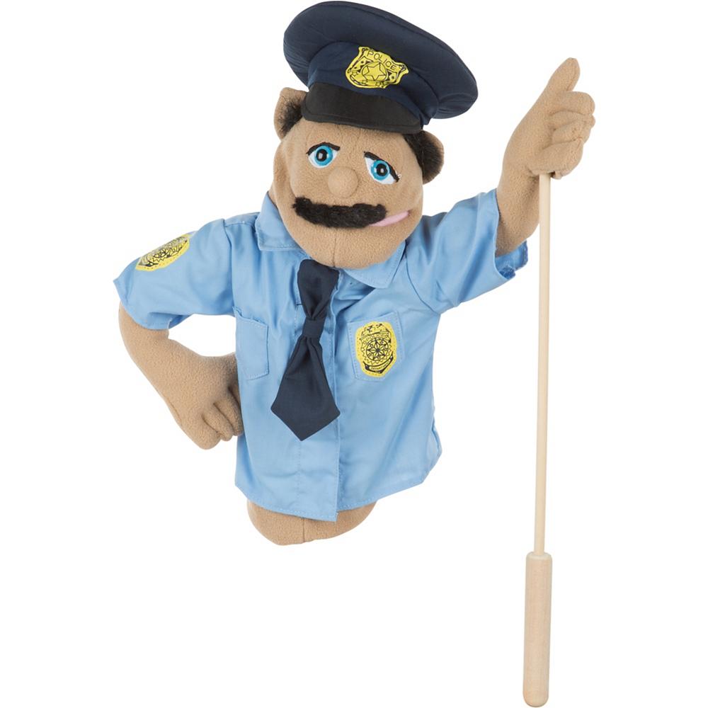 Melissa & Doug Police Officer Puppet Image #1