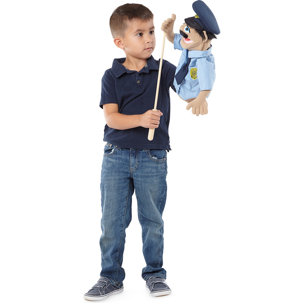 Melissa & Doug Police Officer Puppet Image #2