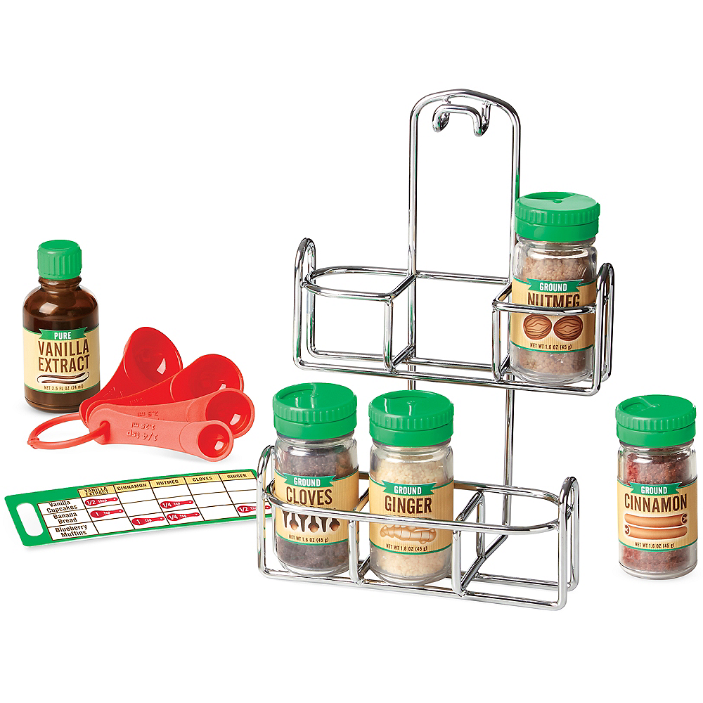 Nav Item for Melissa & Doug Let's Play House! Baking Spice Set Image #2
