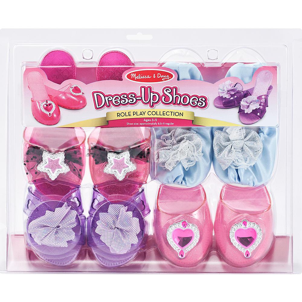 Melissa & Doug Step In Style! Dress-Up Shoes Set Image #1
