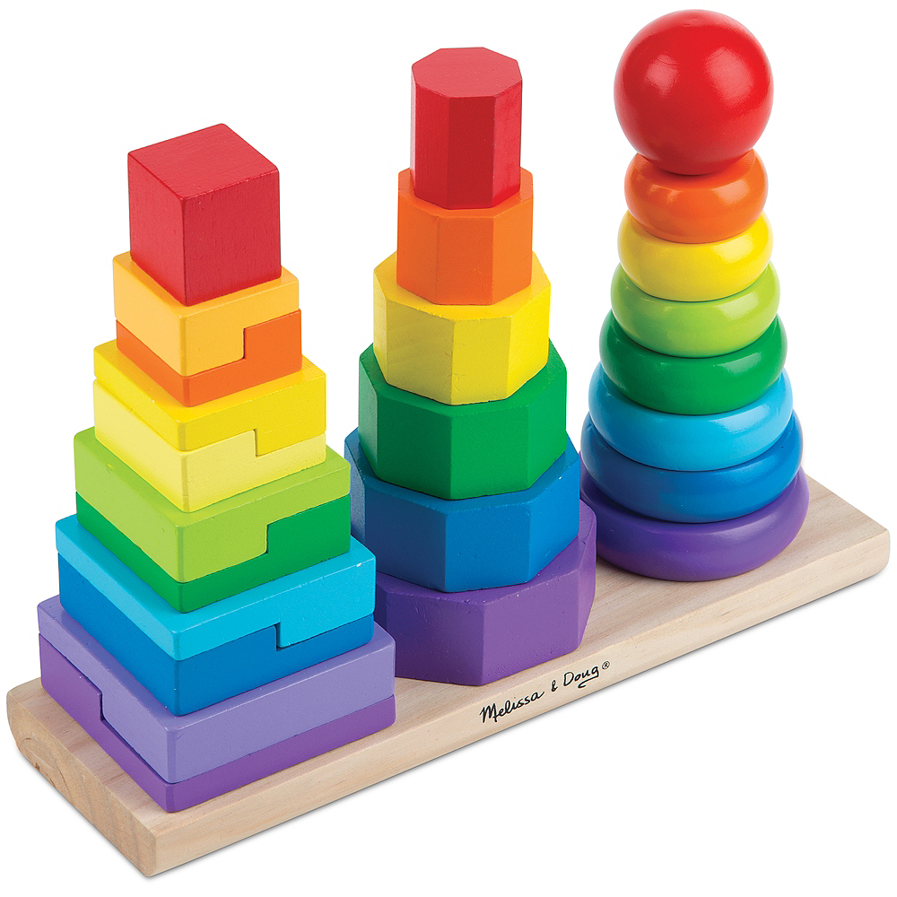 Nav Item for Melissa & Doug Geometric Stacker Image #2