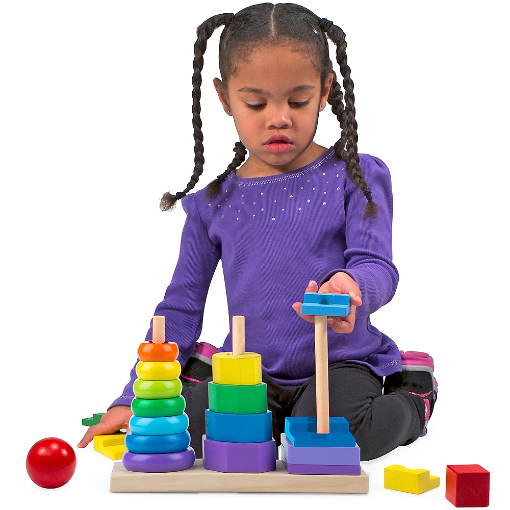 Nav Item for Melissa & Doug Geometric Stacker Image #3