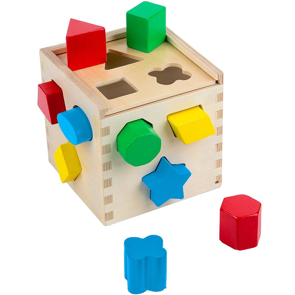 Melissa & Doug Shape Sorting Cube Image #1
