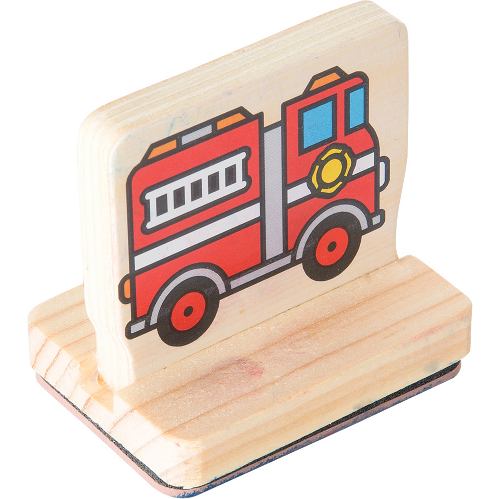 Melissa & Doug My First Wooden Stamp Set - Vehicles Image #2