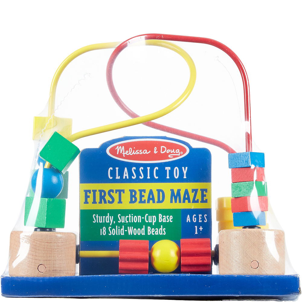 Nav Item for Melissa & Doug First Bead Maze Image #1