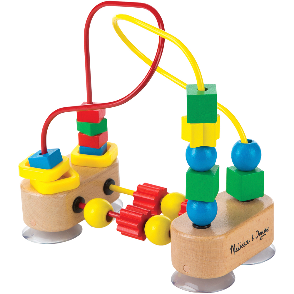 Nav Item for Melissa & Doug First Bead Maze Image #2