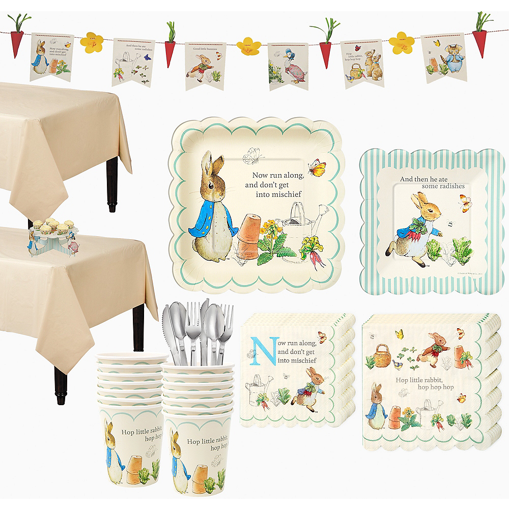Peter Rabbit Party Kit for 16 Guests Image #1