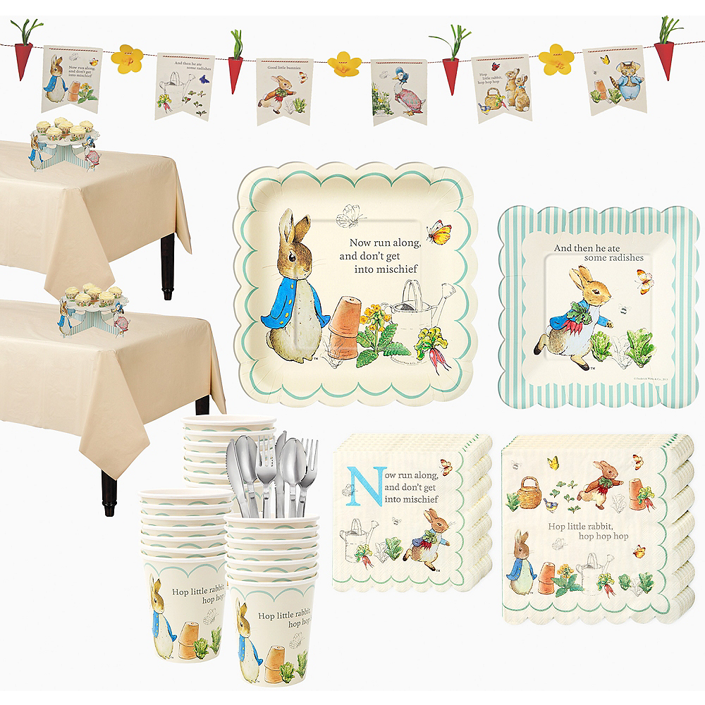 Peter Rabbit Party Kit for 32 Guests Image #1