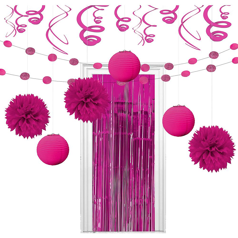 Super Bright Pink Decorating Kit Image #1