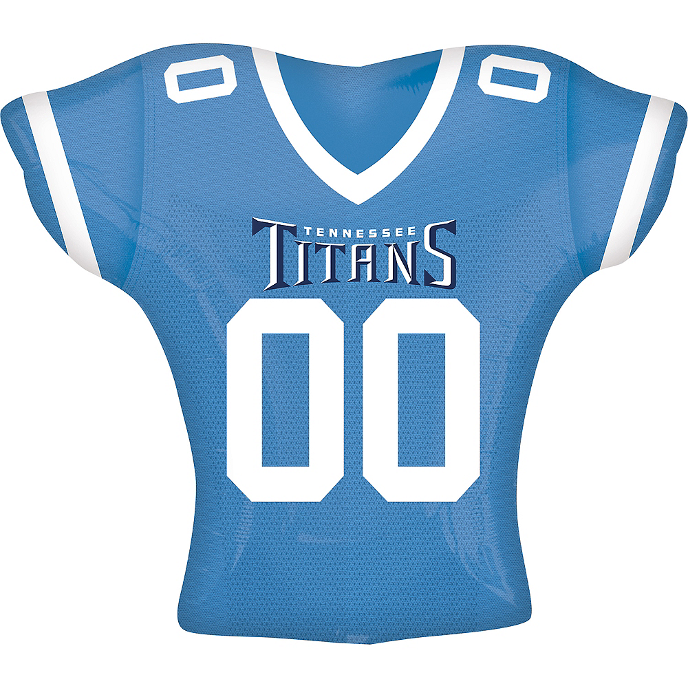 Tennessee Titans Jersey Balloon Image #1
