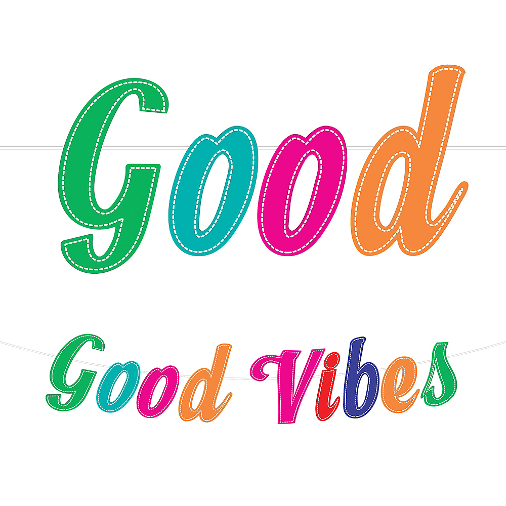 Nav Item for Good Vibes 70s Letter Banner Image #1