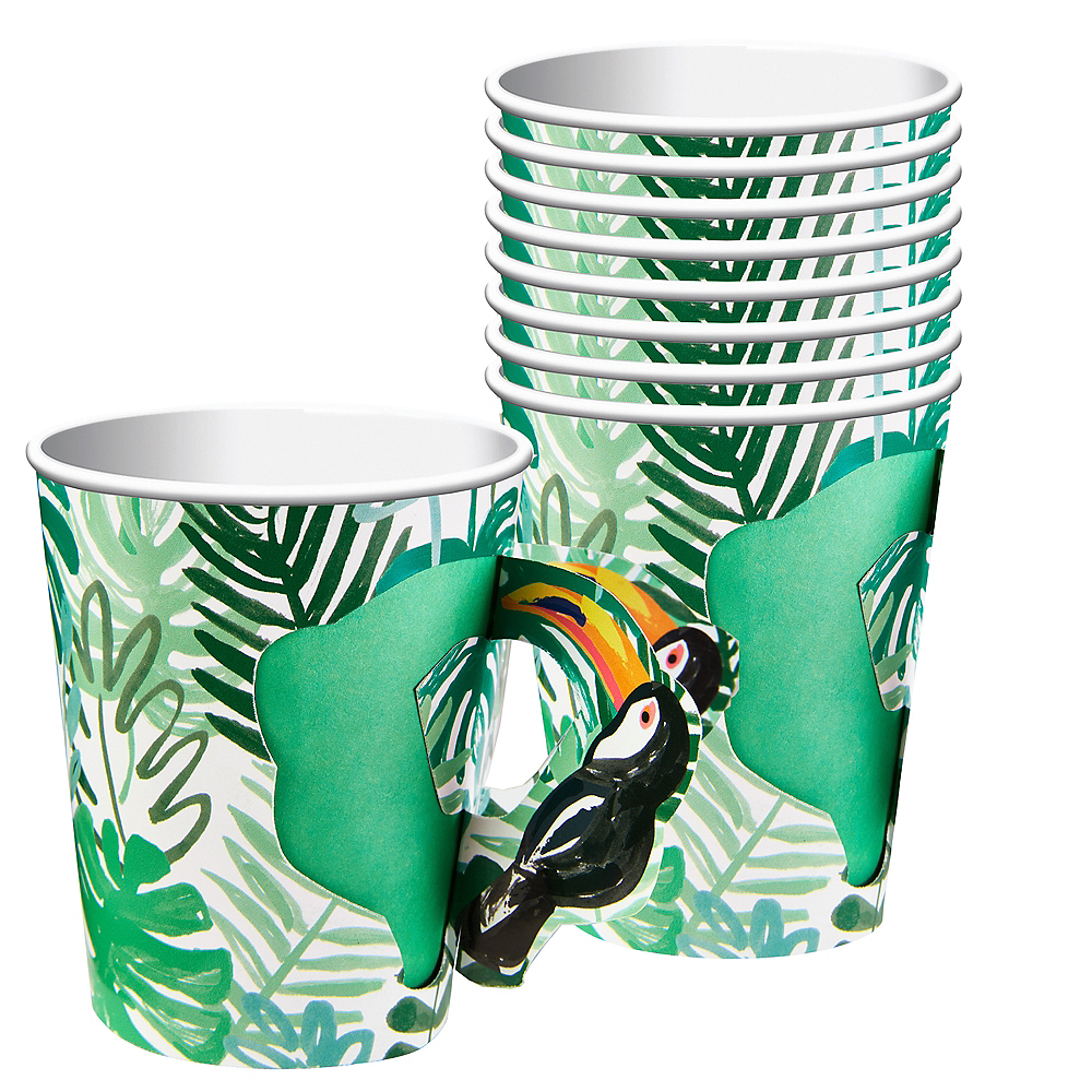 Toucan Jungle Paper Cups 8ct Image #1