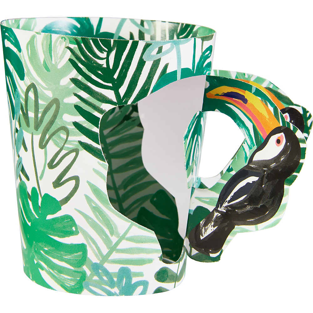 Toucan Jungle Paper Cups 8ct Image #2