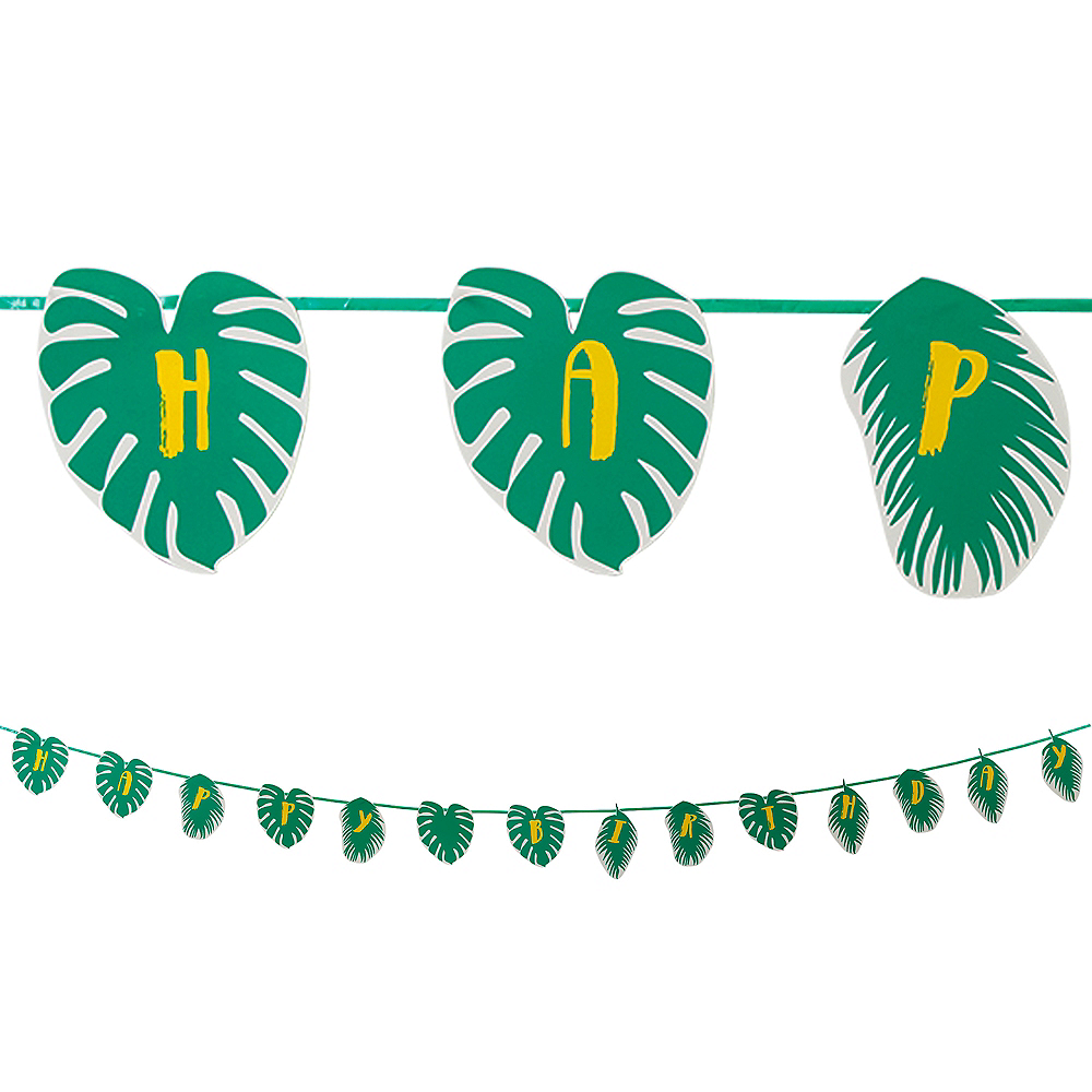 Tropical Leaves Garland 6ft Image #1