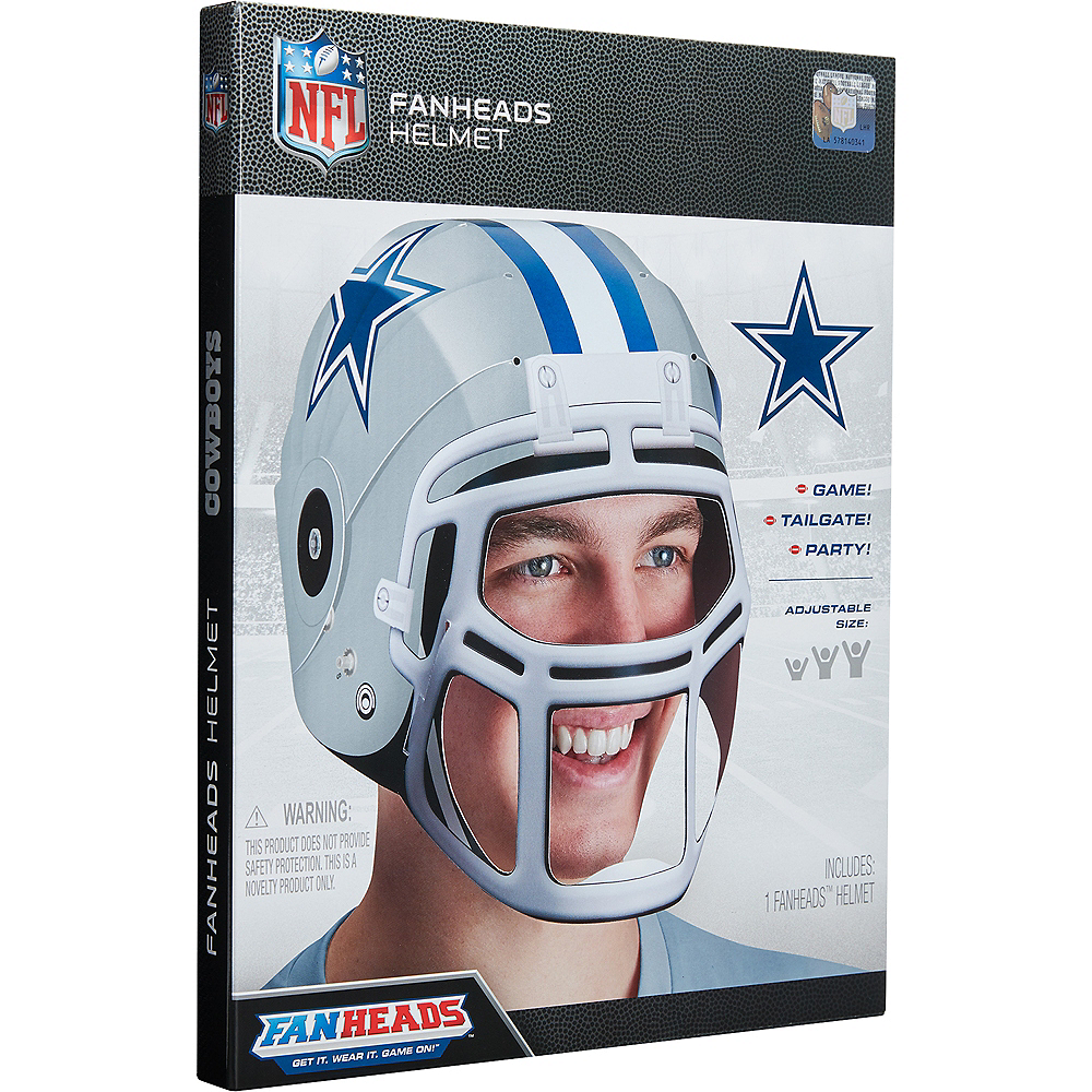 FanHeads Dallas Cowboys Helmet Image #3