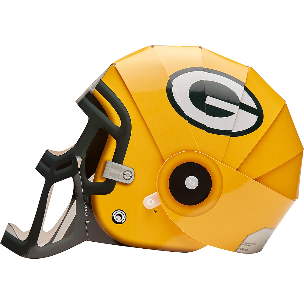 Fanheads Green Bay Packers Helmet 10in X 8in Party City