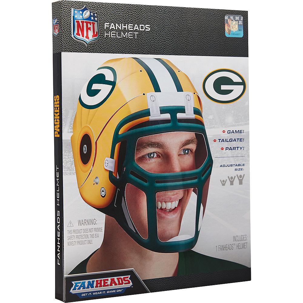 FanHeads Green Bay Packers Helmet Image #3