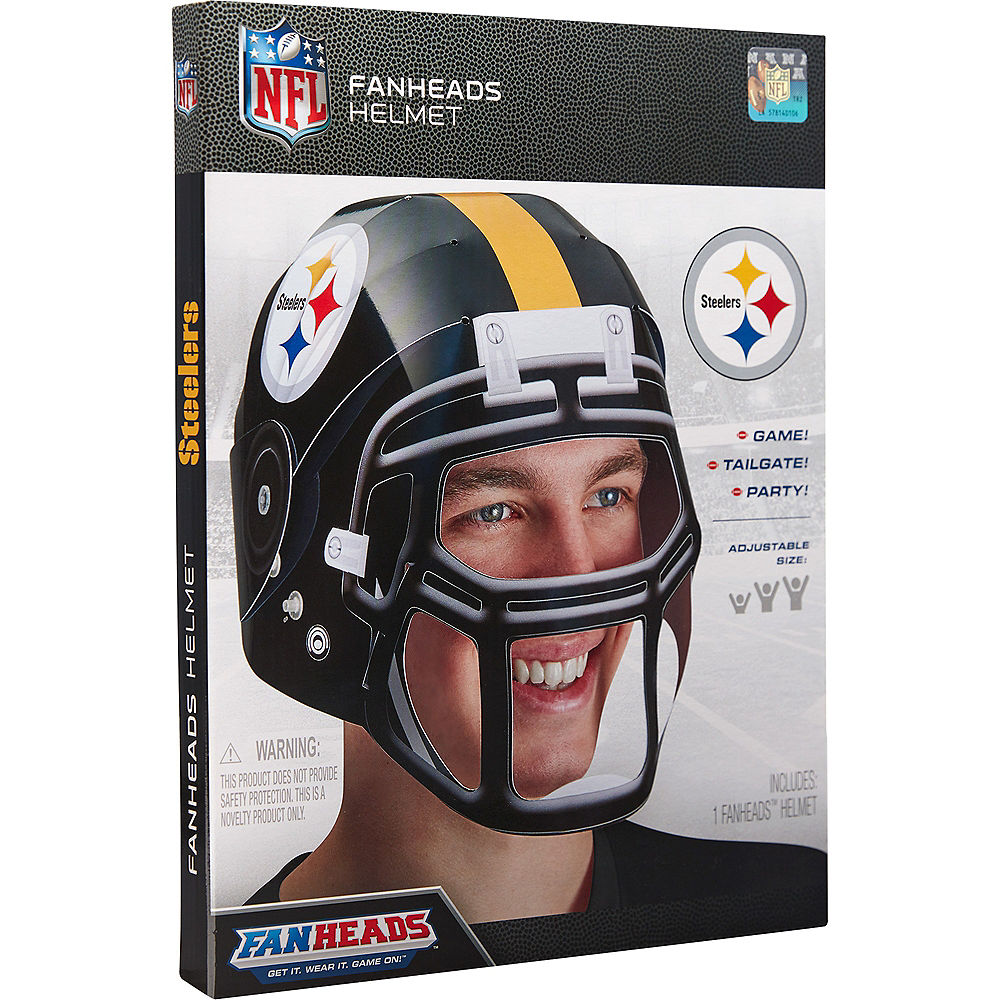 FanHeads Pittsburgh Steelers Helmet Image #3