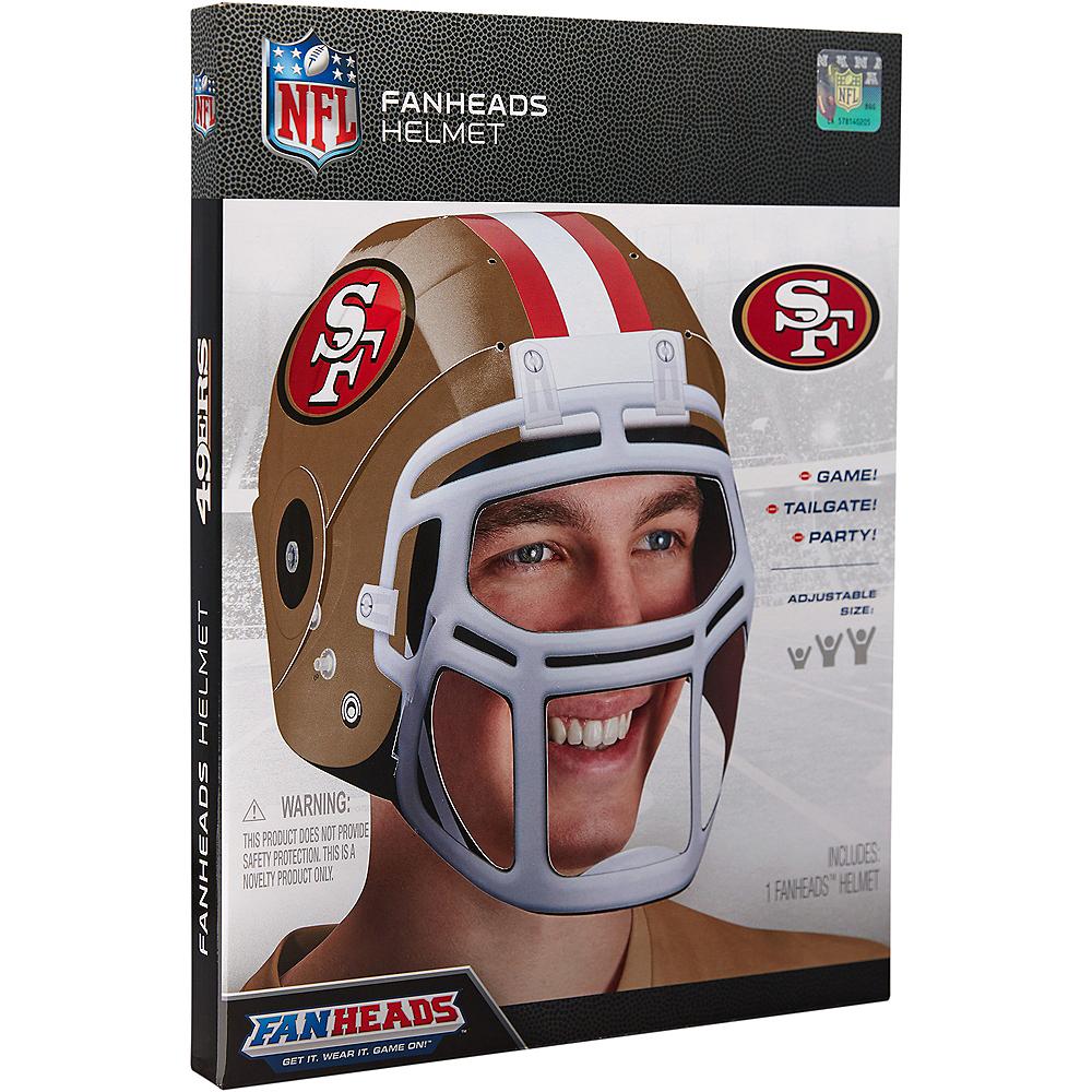 FanHeads San Francisco 49ers Helmet Image #3