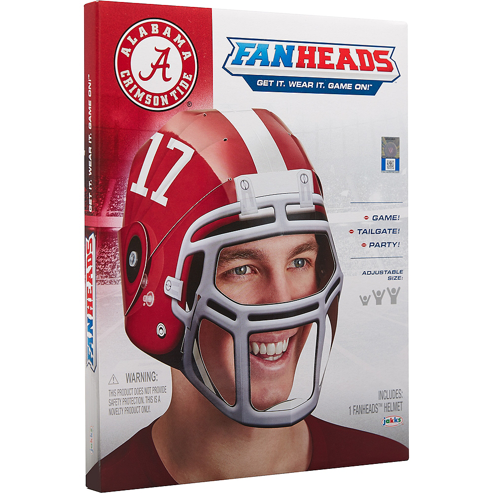 big sale 226fa 843aa FanHeads Alabama Crimson Tide Helmet