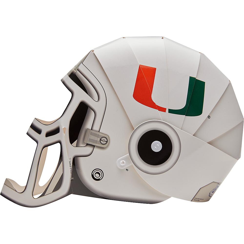 FanHeads Miami Hurricanes Helmet Image #1