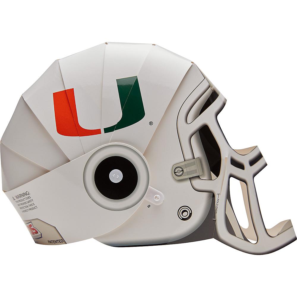 FanHeads Miami Hurricanes Helmet Image #2