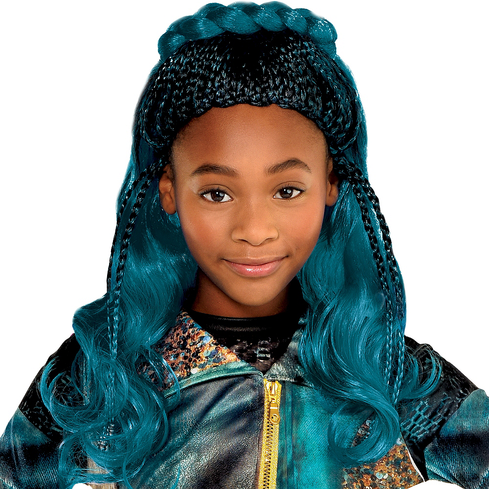 Child Uma Wig - Descendants 3 Image #1