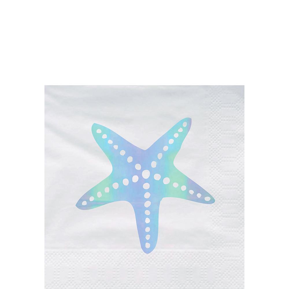 Starfish Beverage Napkins 20ct Image #1