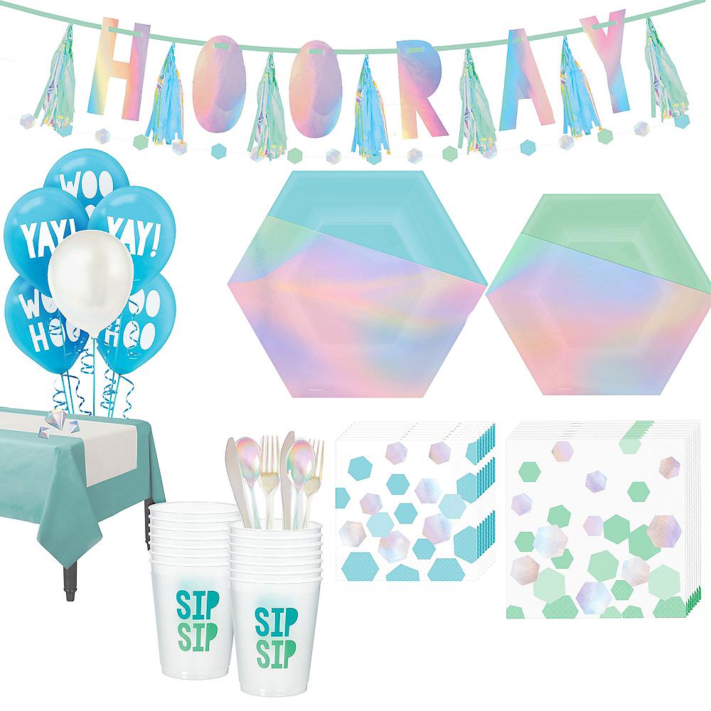 Super Shimmering Party Kit for 16 Guests Image #1