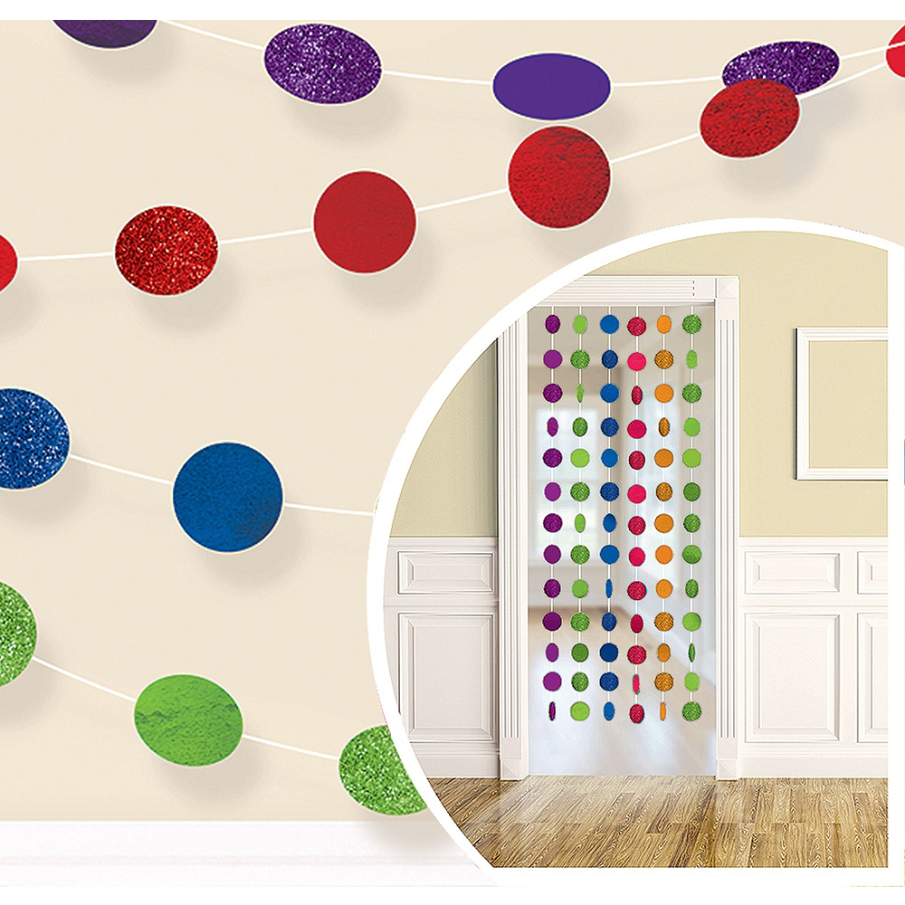 Rainbow Honeycomb Decorating Kit Image #2