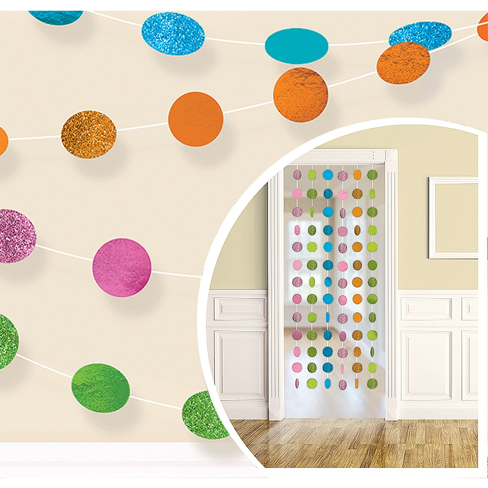 Multicolor Honeycomb Decorating Kit Image #2
