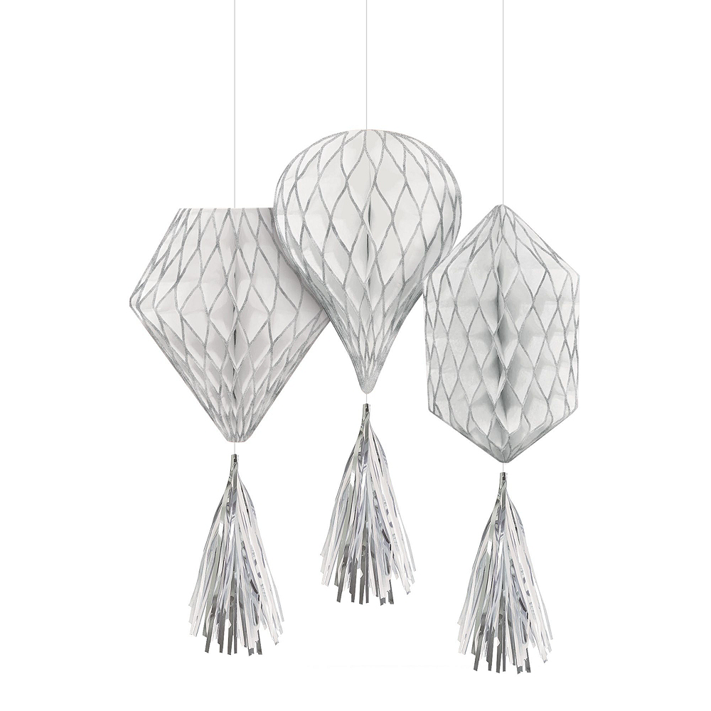Silver Honeycomb Decorating Kit Image #3