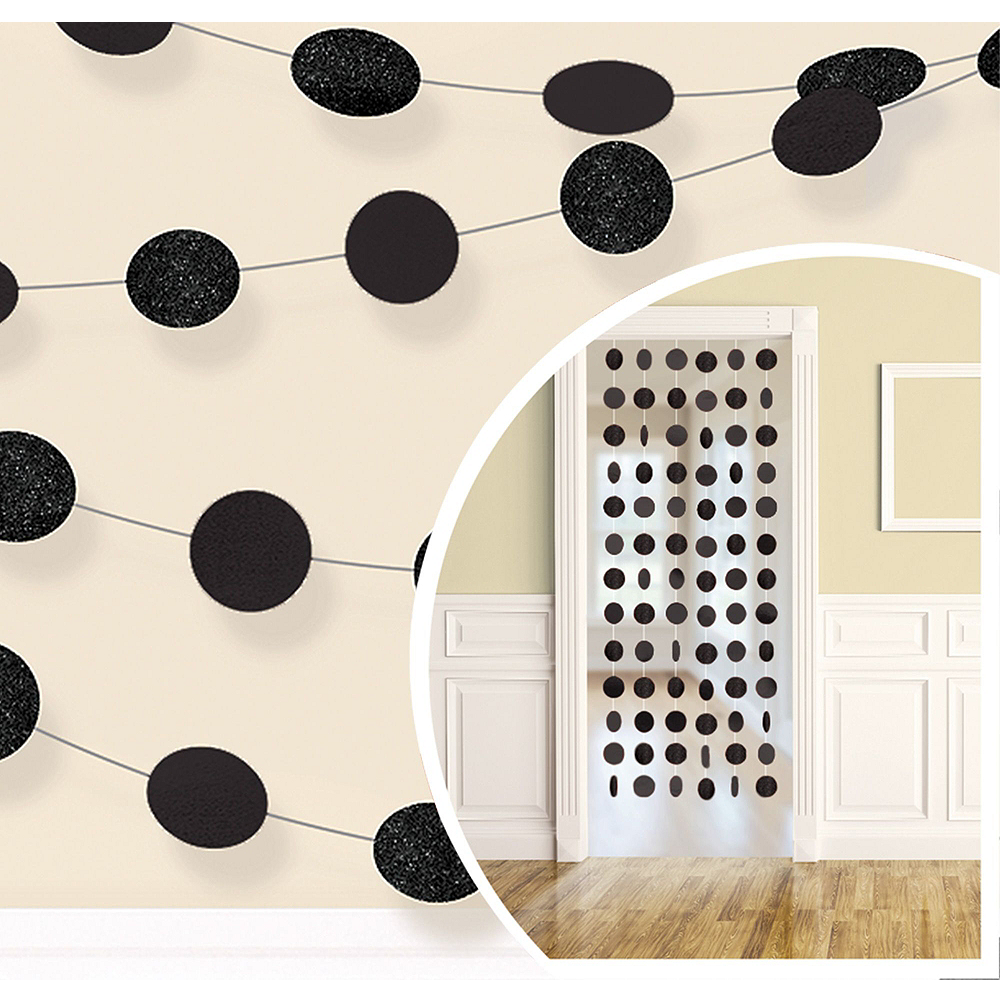 Black Honeycomb Decorating Kit Image #2