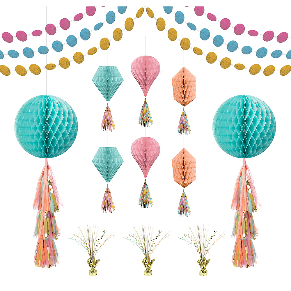 Nav Item for Pastel Honeycomb Decorating Kit Image #1