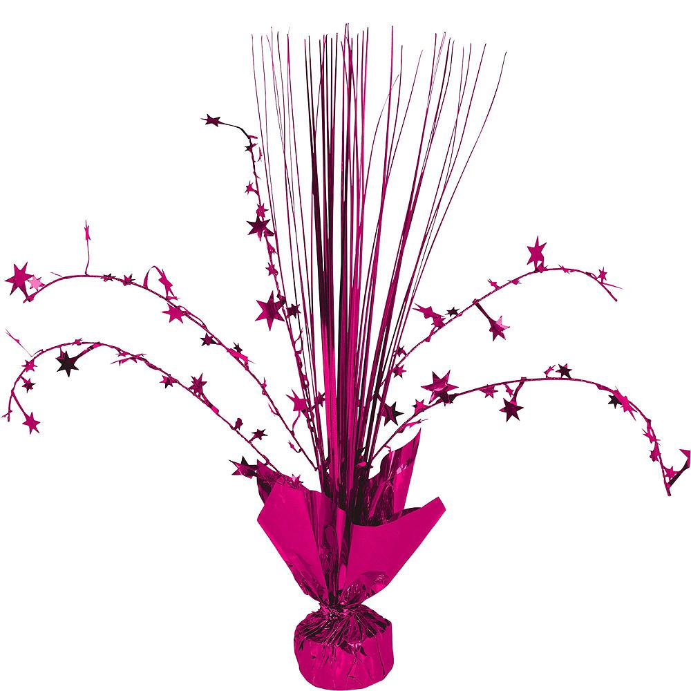 Bright Pink Honeycomb Decorating Kit Image #4