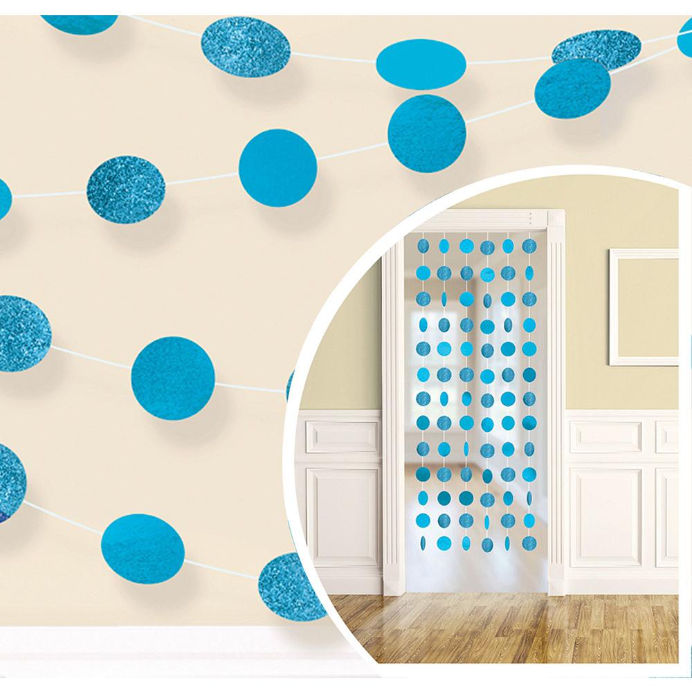 Caribbean Blue Honeycomb Decorating Kit Image #2