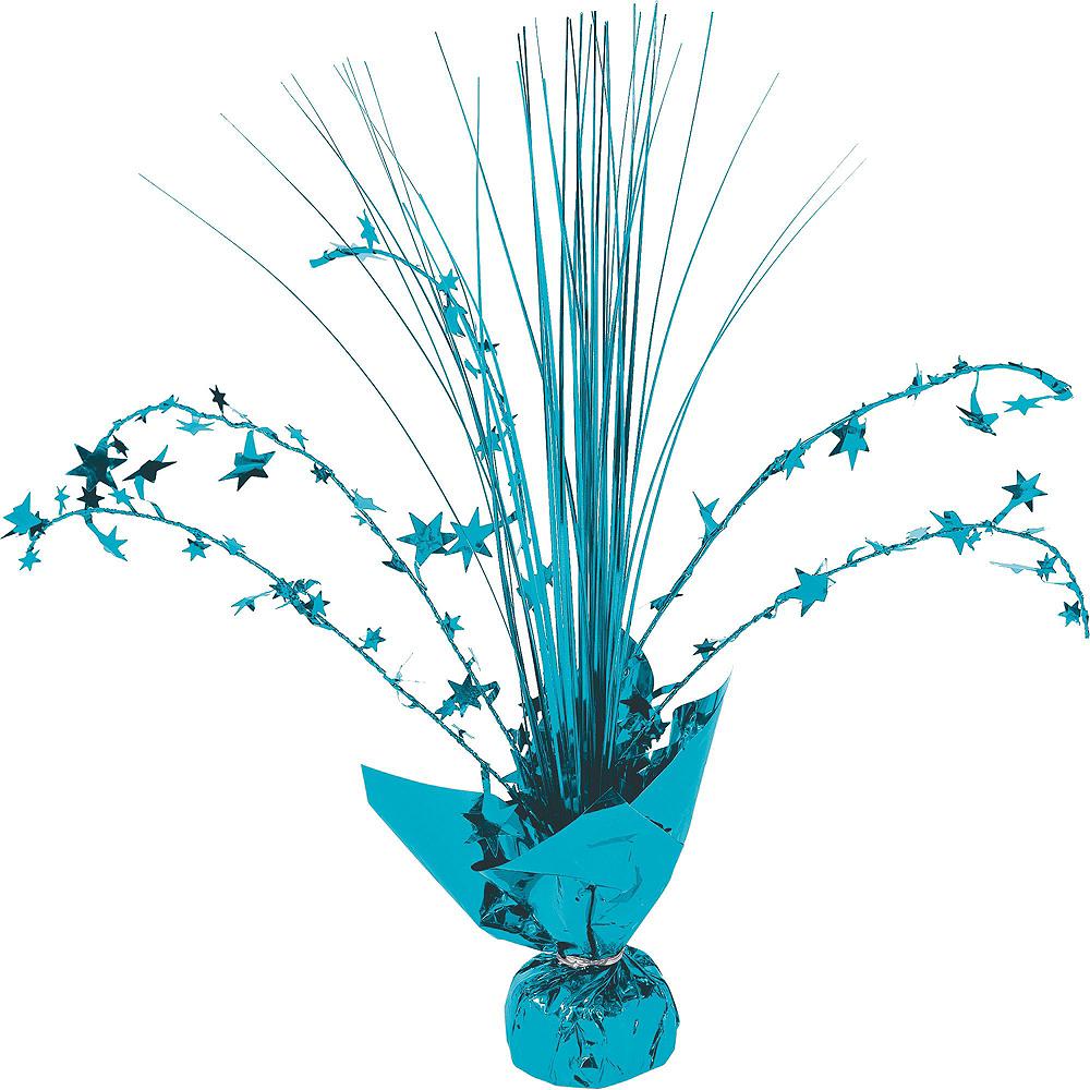 Caribbean Blue Honeycomb Decorating Kit Image #4