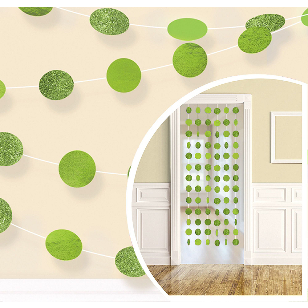 Kiwi Green Honeycomb Decorating Kit Image #2
