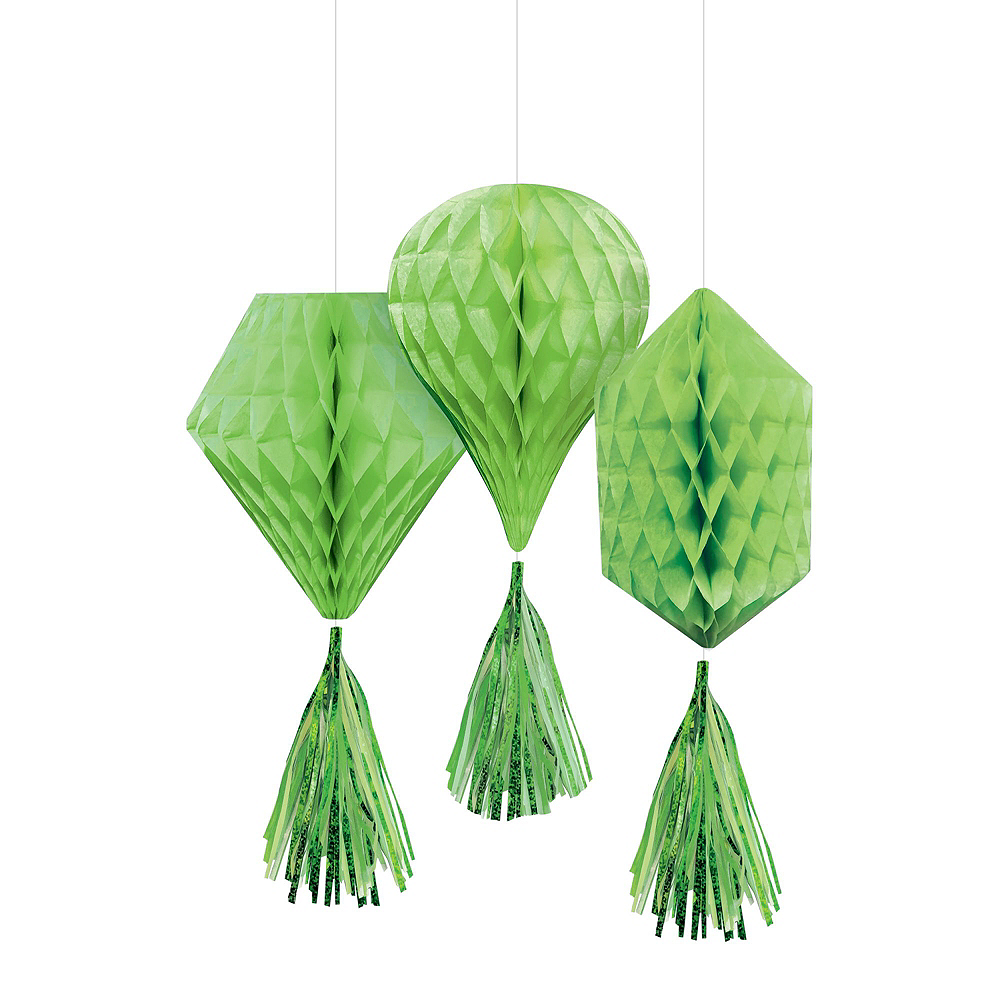 Kiwi Green Honeycomb Decorating Kit Image #3