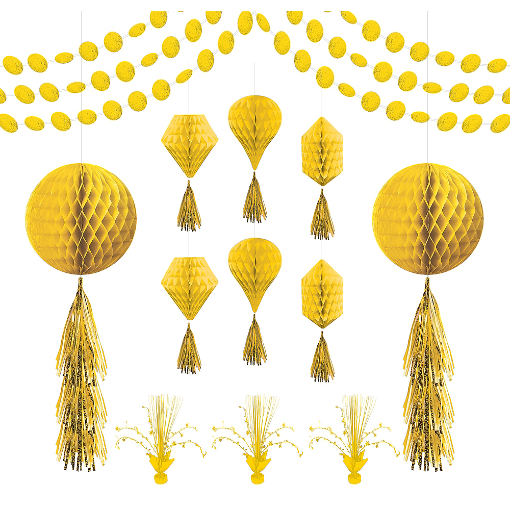 Nav Item for Yellow Honeycomb Decorating Kit Image #1