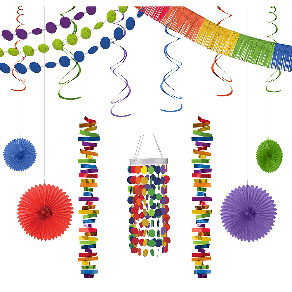 Rainbow Dot Decorating Kit Image #1