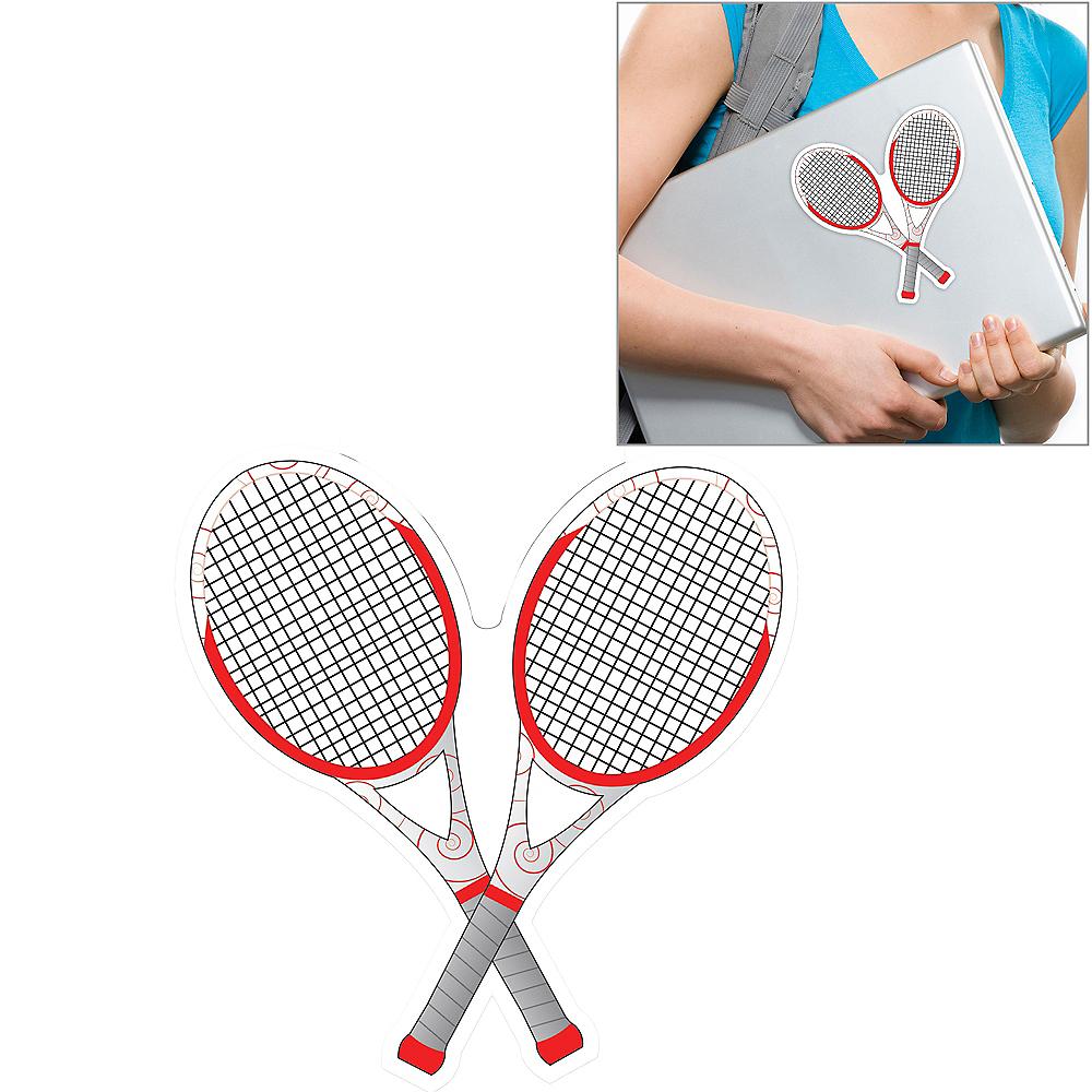 Tennis Racket Decal Image #1