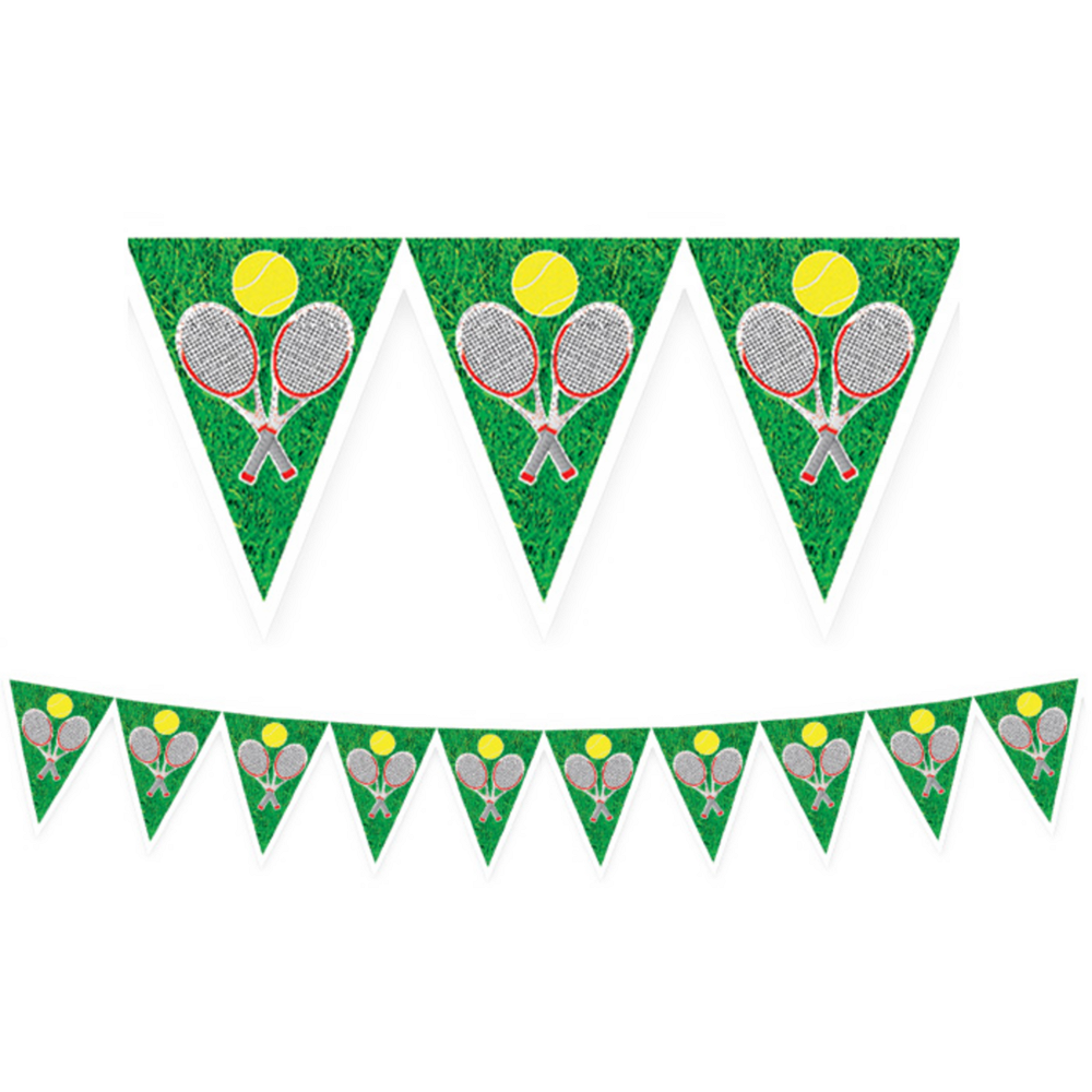 Tennis Pennant Banner Image #1