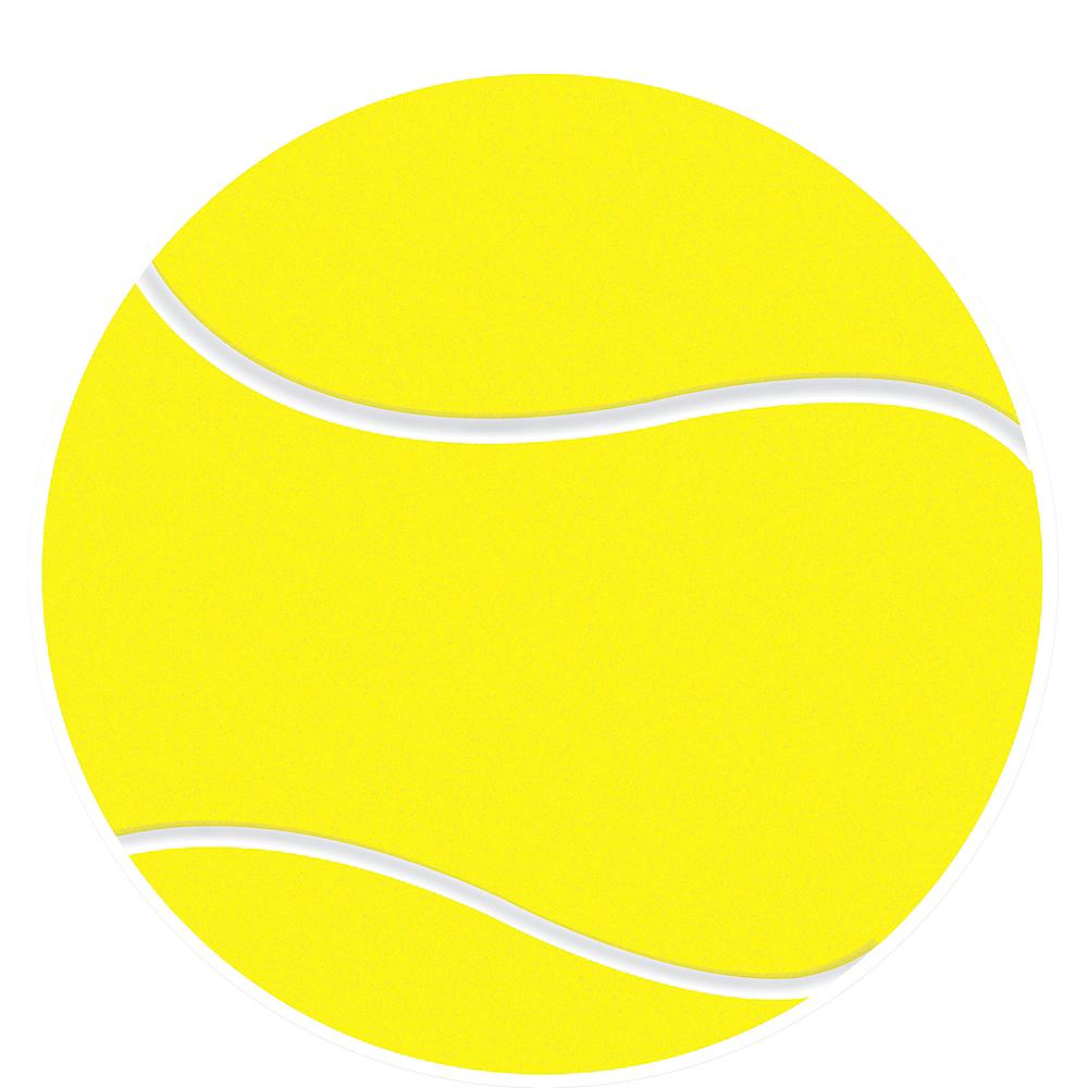 Tennis Ball Cutout Image #1