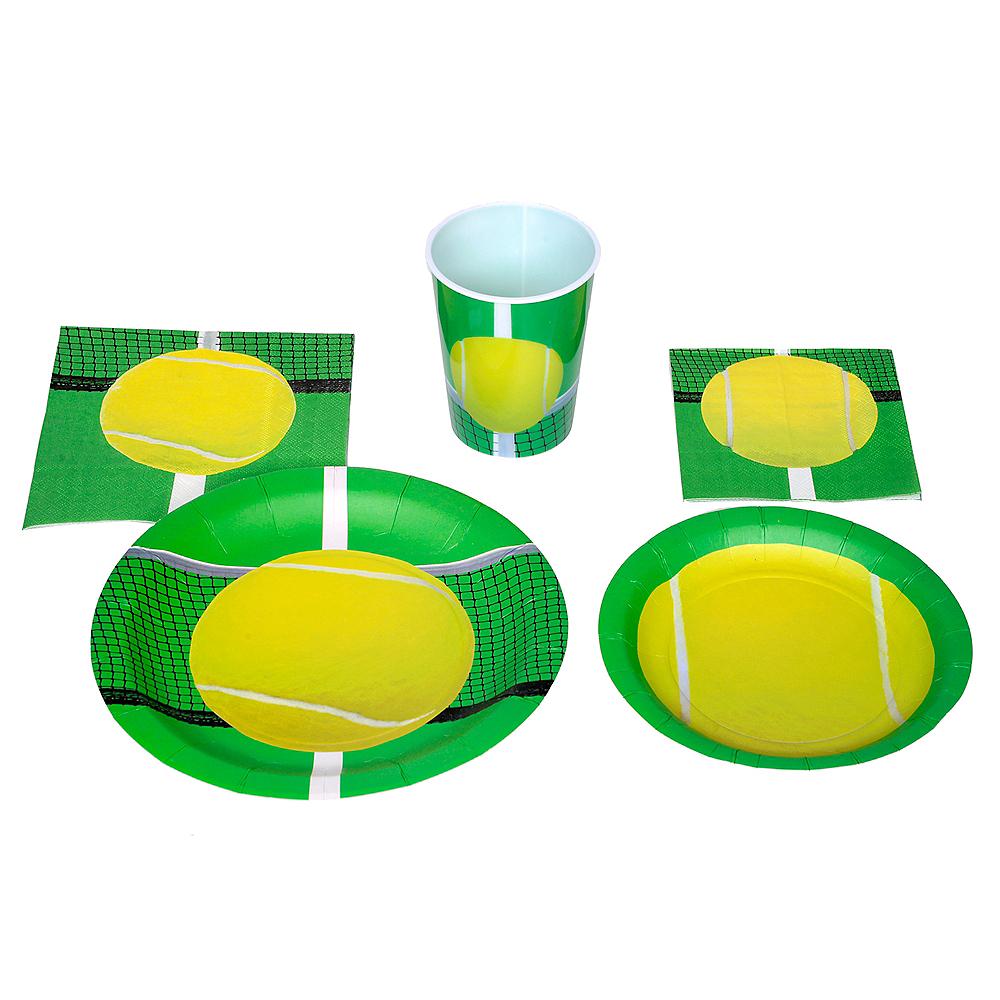 Tennis Ball Dessert Plates 8ct Image #2