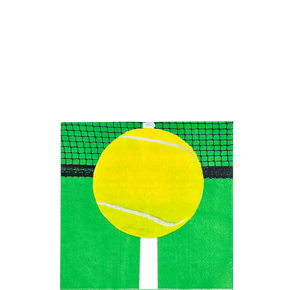 Tennis Ball Beverage Napkins 16ct Image #1