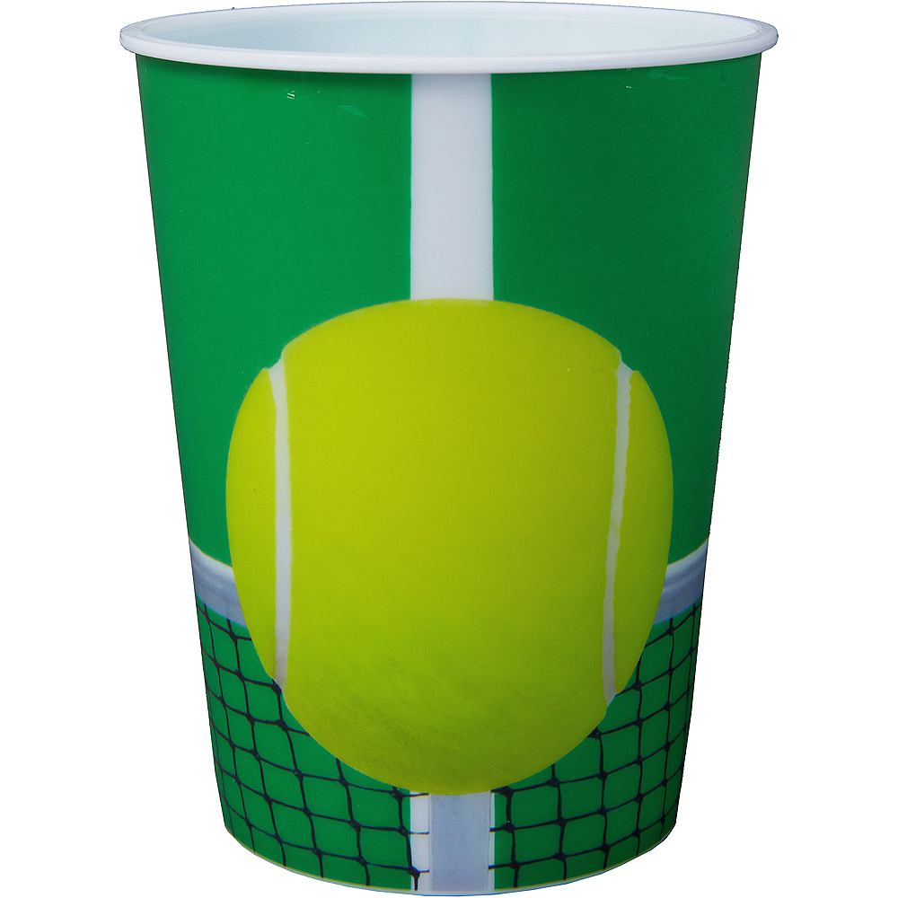 Tennis Favor Cup Image #1
