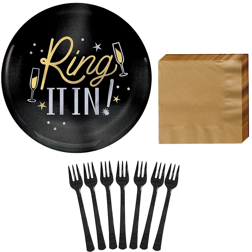 Nav Item for Ring It in New Year's Eve Appetizer Kit for 40 Guests Image #1